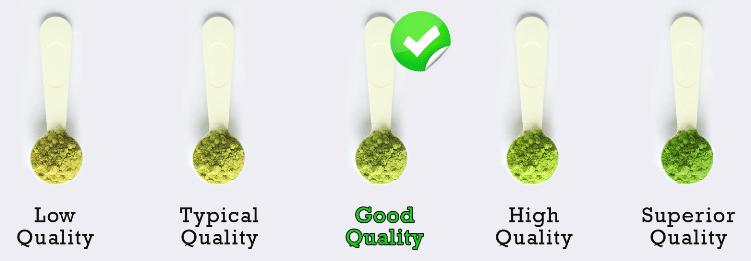 matcha quality