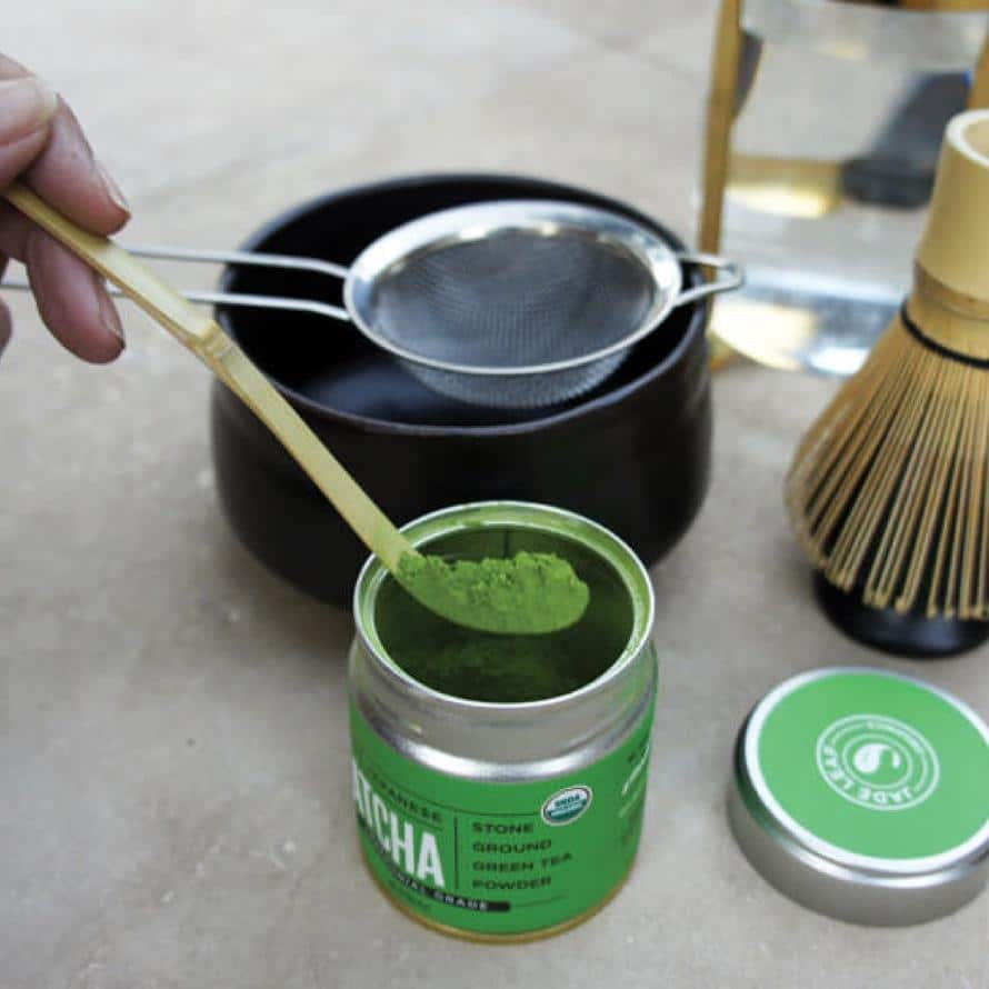 Traditional Matcha Prep