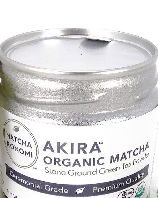 Akira Matcha Tin top