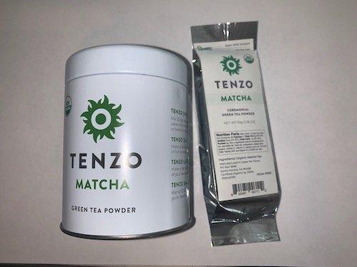 Tenzo Matcha Packaging